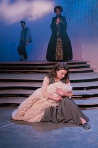 Marguerite (Daniela Pagliarello) mourns the loss of her son